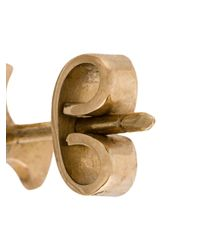 Polina Sapouna Ellis - Metallic Helix Stud Earrings - Lyst