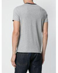 Polo Ralph Lauren - Gray Logo Print T-shirt for Men - Lyst