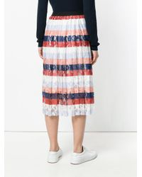 Essentiel Antwerp - Multicolor Palms Pleated Skirt - Lyst