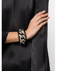 Givenchy - Black Chain Bracelet - Lyst
