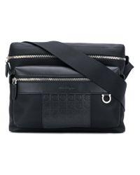 Ferragamo Black Shoulder Bag for men