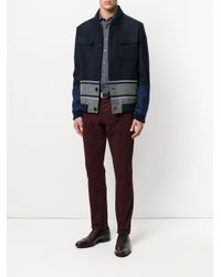 Etro - Blue Pinstripe Shirt for Men - Lyst