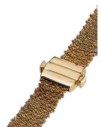 Carolina Bucci - Metallic 18kt Yellow Gold 1cm Woven Cuff - Lyst