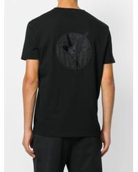 Stella McCartney - Black Logo Print T-shirt for Men - Lyst