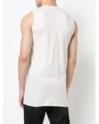 Rick Owens - Multicolor Round Neck Tank Top for Men - Lyst