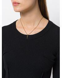 Marc Jacobs - Metallic Small Lollipop Pendant Necklace - Lyst