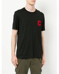 Calvin Klein - Black C Badge T-shirt for Men - Lyst