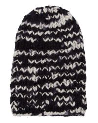 The Elder Statesman - Black Slouch Fit Beanie for Men - Lyst