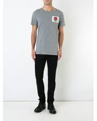 Kent & Curwen | Gray Rose T-shirt for Men | Lyst