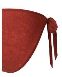Marlies Dekkers - Red Puritsu Tie Bikini Bottoms - Lyst