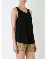 Manning Cartell - Black Ribbed Tank Top - Lyst