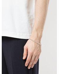 Www. Will Shott - Metallic Ball Chain Bracelet for Men - Lyst