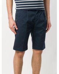 Entre Amis - Blue Bermuda Shorts for Men - Lyst