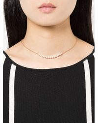 Anita Ko - Metallic Large Crescent Necklace - Lyst