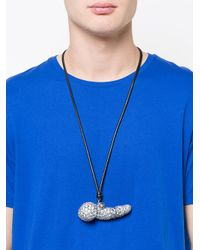 Vivienne Westwood - Metallic Giant Pavé Penis Pendant for Men - Lyst