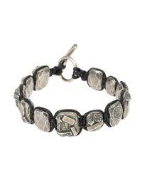Tobias Wistisen - Black Mosaic Bead Bracelet for Men - Lyst