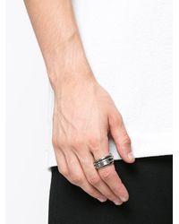 Werkstatt:münchen - Metallic Wrap-around Ring for Men - Lyst