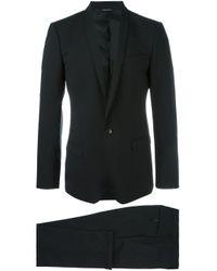 Dolce & Gabbana Black Formal Suit for men