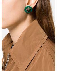 DSquared² - Green Star Earrings - Lyst