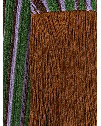 Missoni - Multicolor Metallic Fringed Scarf - Lyst