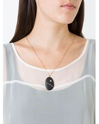 Cvc Stones - Metallic Ischia Diamond Pebble Necklace - Lyst