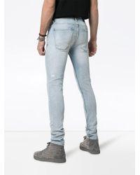 Ksubi Blue Van Winkle Skinny Jeans for men