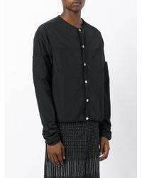 Telfar - Black Collarless Jacket for Men - Lyst