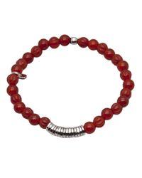 Tateossian   Metallic Disc Bracelet for Men   Lyst