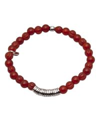 Tateossian - Metallic Disc Bracelet for Men - Lyst