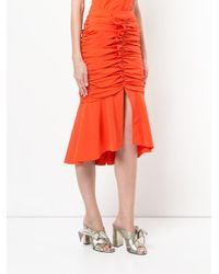 Rebecca Vallance - Red Brescia Skirt - Lyst