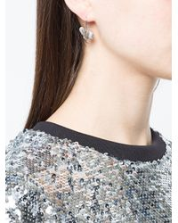 Vivienne Westwood - Metallic Pan Earrings - Lyst
