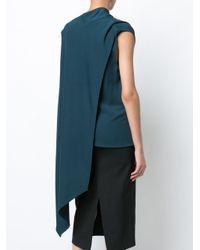 Narciso Rodriguez - Green Asymmetric Top - Lyst