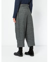 Toogood - Gray The Tinker Cropped Trousers - Lyst
