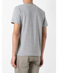 Play Comme des Garçons - Gray Heart Print T-shirt for Men - Lyst