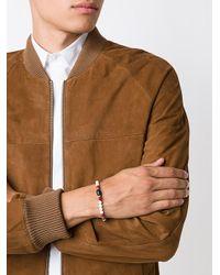 Roman Paul - Red Beaded Bracelet for Men - Lyst