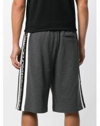Dolce & Gabbana Gray Branded Casual Shorts for men