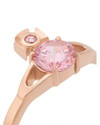 Vivienne Westwood - Pink Reina Petite Ring - Lyst