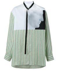 Raf Simons - White X Robert Mapplethorpe Ermes Printed Shirt for Men - Lyst