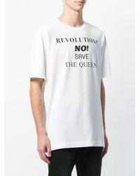 Dolce & Gabbana - White Revolution? T-shirt for Men - Lyst