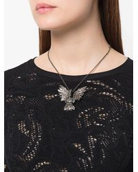 Lanvin - Metallic Bird Necklace - Lyst