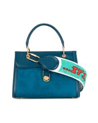 Olympia Le-Tan - Blue It's All Over Strap - Lyst