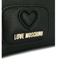 Love Moschino - Black Hand Fastened Clutch - Lyst