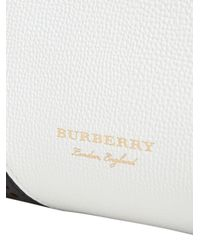 Burberry - White Baby Banner Tote - Lyst