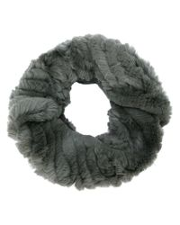 Yves Salomon | Gray Fur Stole | Lyst