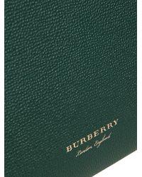 Burberry - Green Medium Banner Tote - Lyst