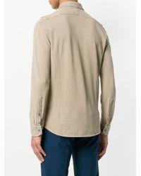 Drumohr Natural Long Sleeve Shirt for men