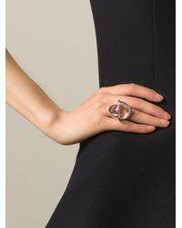 Lara Bohinc - Gray 'planetaria' Ring - Lyst