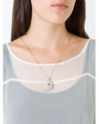 Cvc Stones - Metallic Buenaventura Emerald Pebble Necklace - Lyst