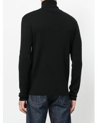 J.W. Anderson - Black Zipped Sweater for Men - Lyst