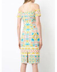 Black Halo - Multicolor Basilica Dress - Lyst